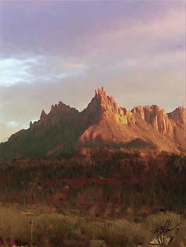 The Eagles Crag by Forest Stiltner