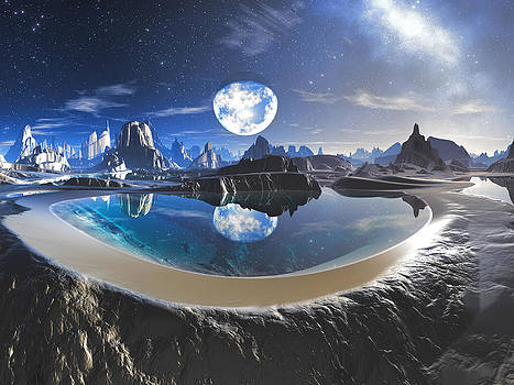 The Earth Pool by Spinning Angel