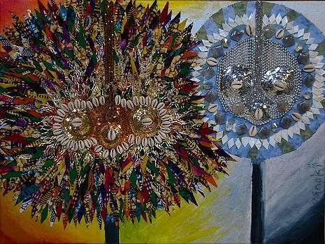 The Egungun by Apanaki Temitayo M