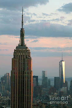 Gregory Dyer - The Empire State Building and Freedom Tower
