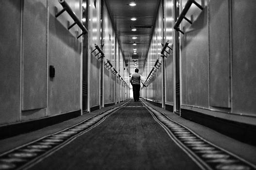 The end of the corridor by Spyros Papaspyropoulos