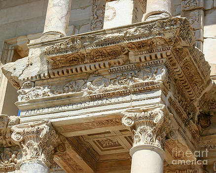 Sabrina L Ryan - The Ephesus Library Detail