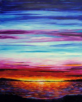 The Evening Lake by Pawel Przemyslaw Pyrka