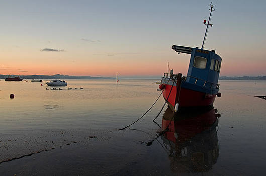 The Exe Estuary at Exmouth by Pete Hemington