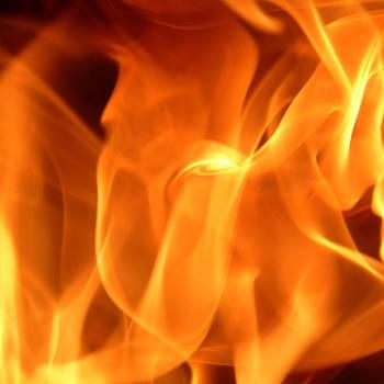 Flame Scape Series 5 by Joseph Desmond