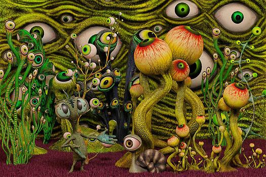 Liam Liberty - The Eyeball Garden