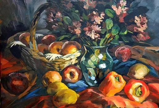 The Fall still life by Olusha Permiakoff