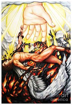The Fallen Angel by Derrick Rathgeber