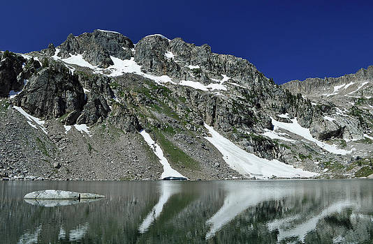 The Far Side of Lake Solitude by Bruce Gourley