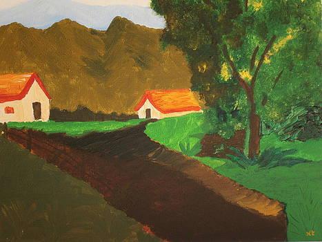 The Farm houses by Tania  Katzouraki