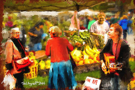 The Farmers Market by Ted Azriel