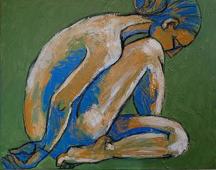 The Final Act - Female Nude by Carmen Tyrrell