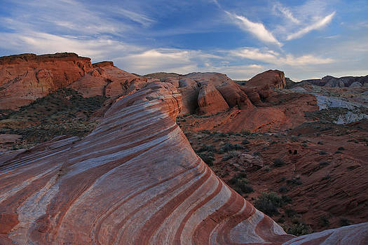 The Fire Wave by Steve Wolfe