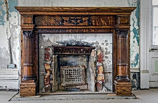 The Fireplace by Cheryl Cencich