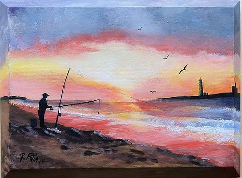 The Fisherman by Rich Fotia