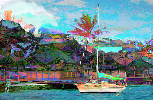 The Flamboyant Dock by Gabriel Jeane
