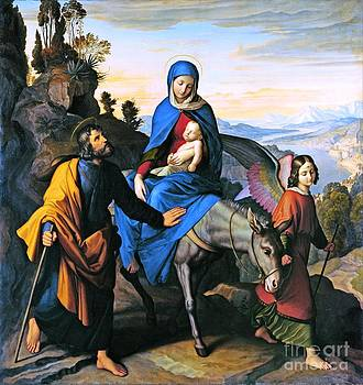 REPRODUCTION - The Flight into Egypt