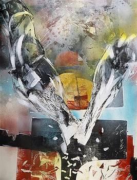 The flight by Otilia Gruneantu Scriuba