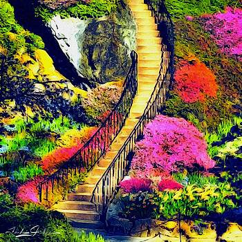 The Floral Staircase by Frank Jackson