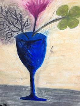The flower glass by Tania  Katzouraki
