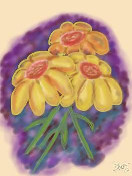 The flowers by Deborah Rosier