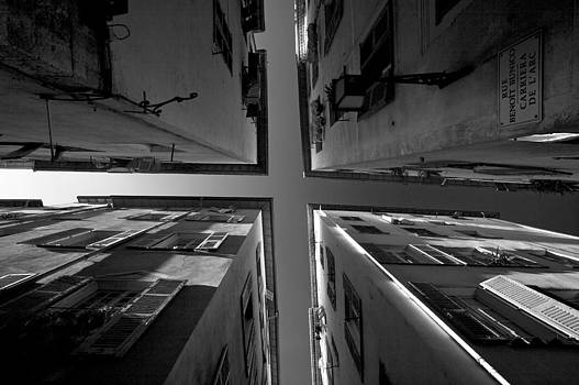The four corners of Nice by Peter Falkner