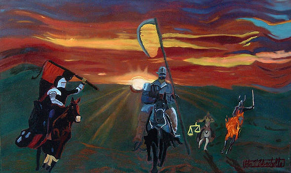 The Four Horsemen of the Apocalypse by John Paul Blanchette