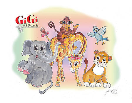 GiGi and Friends by John Keaton