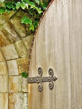 The Garden Gate 2 by Jean Goodwin Brooks
