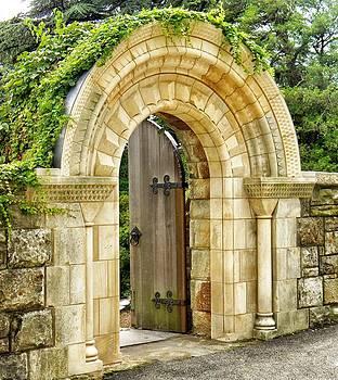 The Garden Gate by Jean Goodwin Brooks