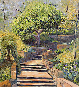 The Garden Stairs by Don Perino