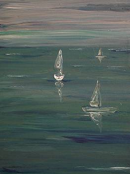 'The Gathering' by Paula  Heffel