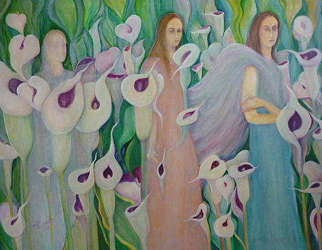 The Ghost The Siren And The Angel by Margaret Pirrouette