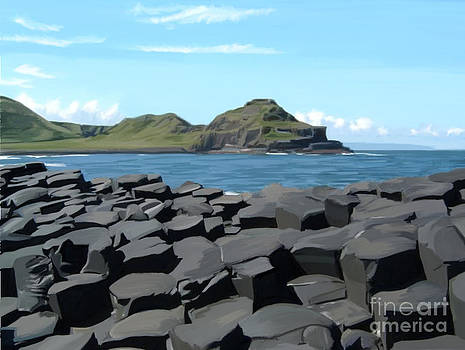 The Giants Causeway by Francis Leavey