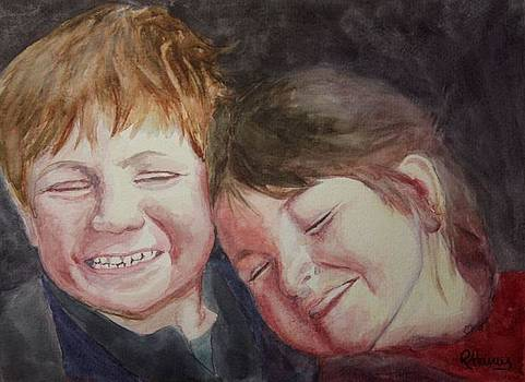 The Giggles by Rachel Hames