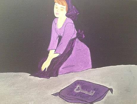 The Girl and the Key by Tania  Katzouraki