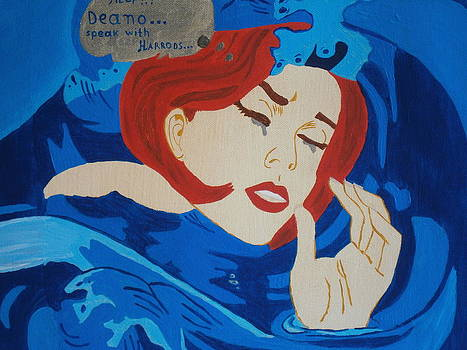 The Girl and The Ocean by Tania  Katzouraki