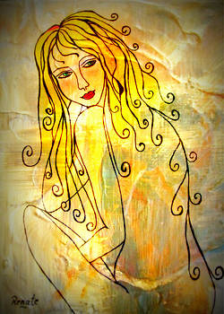 The glow of a woman..... by Renate Dartois
