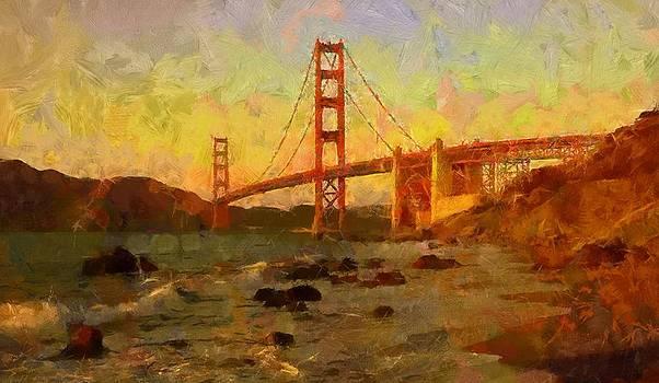 The Golden Gate Bridge by Carol Sullivan