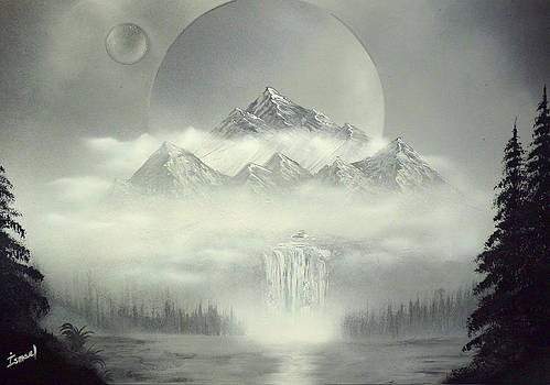 The gray mountain by Ismael Paint