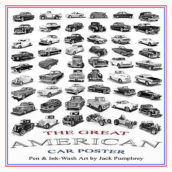 Jack Pumphrey - The American Car Poster