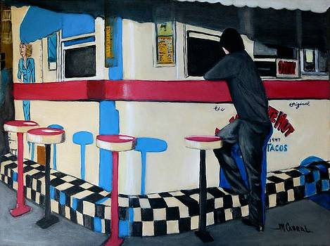 The Great White Hut-food stand by Maggie  Cabral