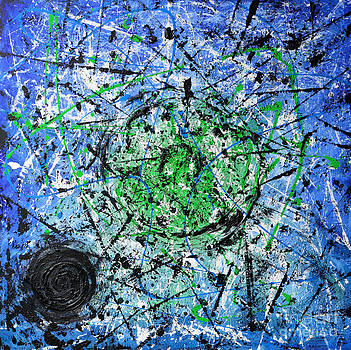 The Green And The Blue by Alys Caviness-Gober