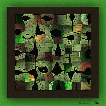 The Green Puzzle by Mihaela Stancu