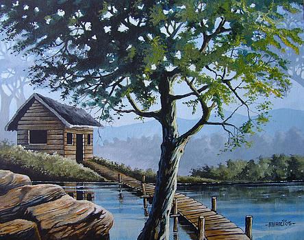 The green tree by Anthony Mwangi