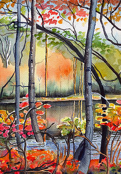 The Greenbriar River II by Katherine Miller