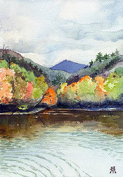 The Greenbriar River by Katherine Miller