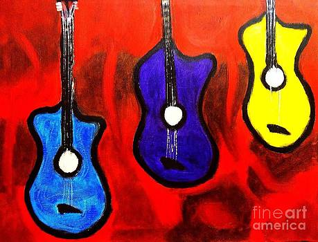 The Guitars by Israel  A Torres