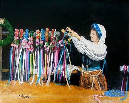 The Hair-Wreath Vendor  by Maggie  Cabral