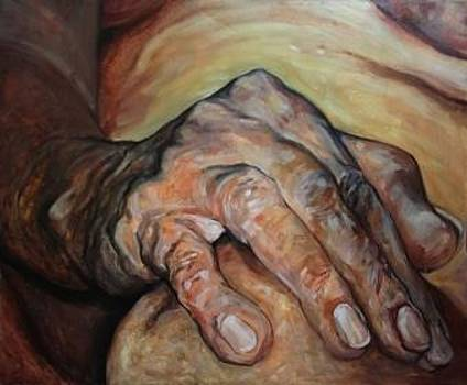 The Hand  by Safir  Rifas